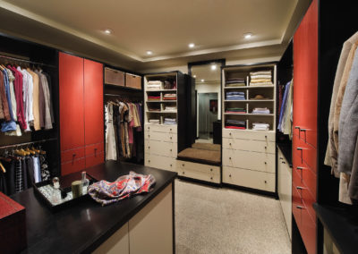 Wood-Mode Linear Solutions Closet Design