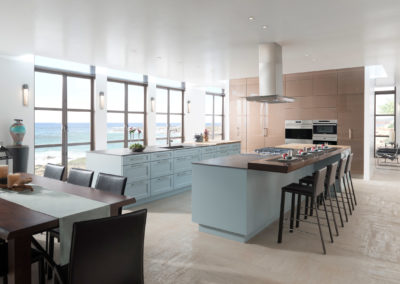 Wood-Mode Oceanside Kitchen Design