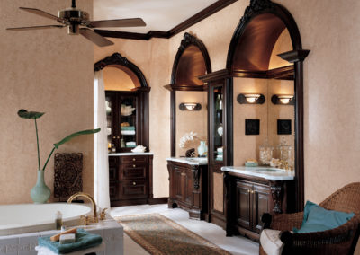 Wood-Mode Custom Cabinetry Bath